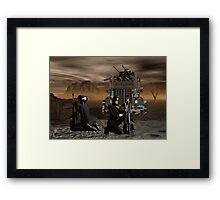 Psychic Wars Recon Scouts Framed Print