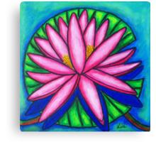 Pink Gem 2 Canvas Print