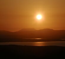 Honey Coloured Donegal Hills - Ireland by mikequigley
