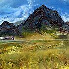 Tryfan Snowdonia by Carol Rowland