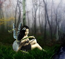 Beautiful Fairy in the Grass by CajunBeauty