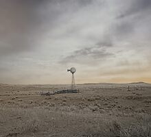 Lone Windmill by Cheryl L. Hrudka