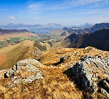 The Newlands Valley - English Lake District by David Lewins
