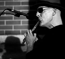 Street Flautist by OsirisPQ
