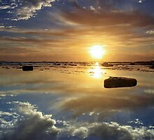Sunrise Reflections by TimboDon