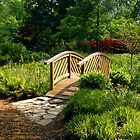 The Bridge At Brookside Gardens by Daniel B McNeill