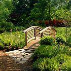 The Bridge At Brookside Gardens by Daniel B McNeill