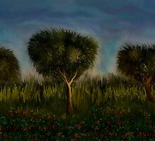 Trees and Landscape by RAFI TALBY