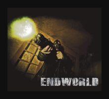 "Endworld ""hells coming with me"" Hoodie by Drummy"