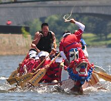 D.C. Dragon Boat Race Plate # (1) by Matsumoto