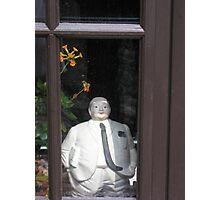 the fat man of perouges Photographic Print