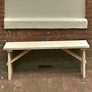 Simple street seat by Marjolein Katsma