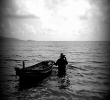 Old man and the sea by davorjakov