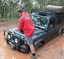 Testing the Winch! by Cheryl Parkes