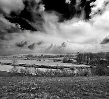 Raging Sky by darkvampire