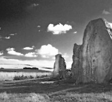 West Kennet Longbarrow by Lucy Martin