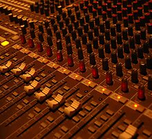 detail of sound mixer by bayu harsa
