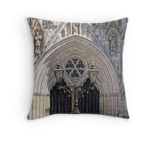 York Minster - West Front Throw Pillow