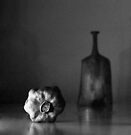 Still life with dry pomegranat by Marianna Tankelevich