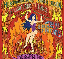 Seraphine the Israeli fire dancer by SirenDesigns