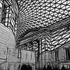 British Museum #1 by Sheila Laurens