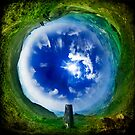 View Over Skipton - Wormhole by Lucy Martin