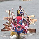 D.C. Dragon boat race Plate # (36) by Matsumoto