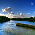 Silence on the River  by Larry Trupp
