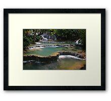 Waterfall Cascades Framed Print