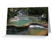 Waterfall Cascades Greeting Card