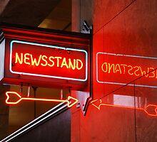Newsstand by Jennifer Hulbert-Hortman
