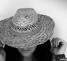 Straw hats and shade by Berns