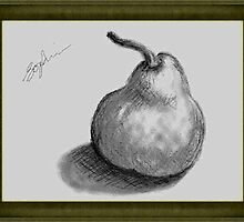Shades of Grey Pear by Sophia Spencer