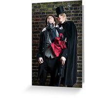 Jane the Ripper II Greeting Card