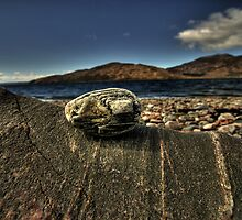Rock, Pebble, Skye, Sky by Drodbar