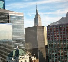 View of Manhattan in the Morning by RTurley