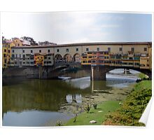 Ponte Vecchio, Firenze (Florence) Italy Poster