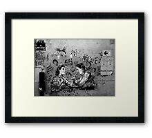 Paris Graffiti XX Framed Print