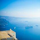 Blue Santorini by Buntywabbit