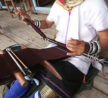 Kayan Woman at work by Colinizing  Photography with Colin Boyd Shafer