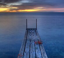 Properbay Road sunrise by wedgephoto