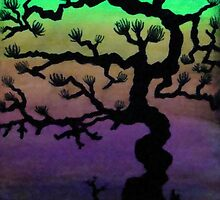 Bonsai Sunset by Moodphaser