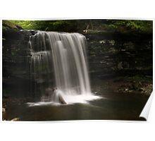 Harrison Wright Waterfalls-Ricketts Glen State Park Poster