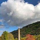 Glendalough Round Tower by Hauke Steinberg