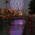 Chatan Ferris Wheel in Asia by J. Martinez