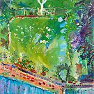 My front garden - winter by Kerry  Thompson