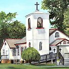 St Bernard Church by Elaine Hodges