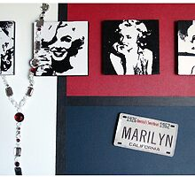 Many Faces of Marilyn by Samitha Hess