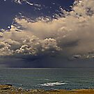 Rain at Guincho beach by BaZZuKa