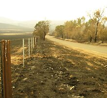 Fires in Yarra Glen by minarri